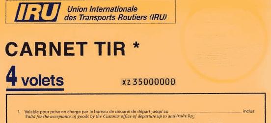 Carnet TIR